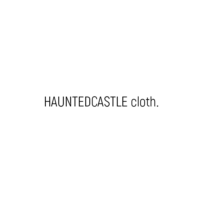 HAUNTEDCASTLE cloth.