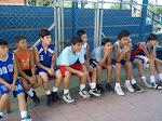 Las practicas de la Selección de minibasquet de Barinas