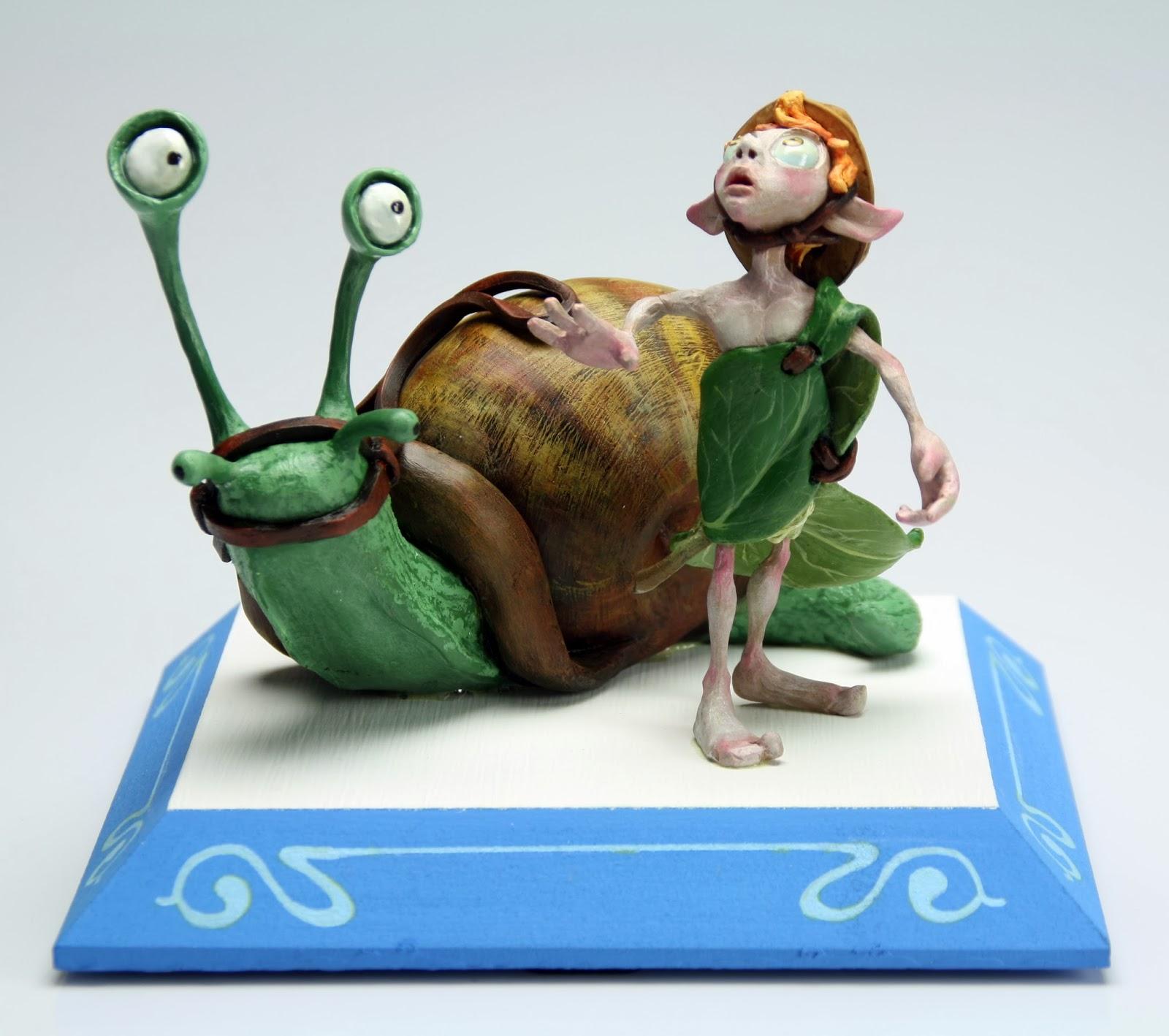 figura jinete de caracoles