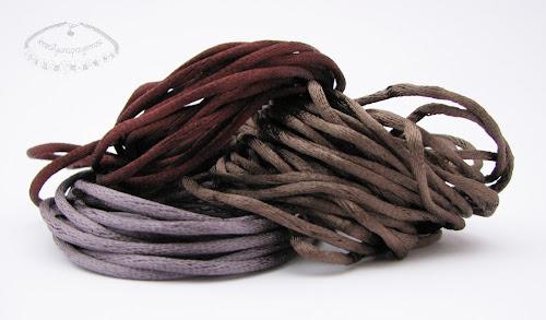 sznurek satynowy