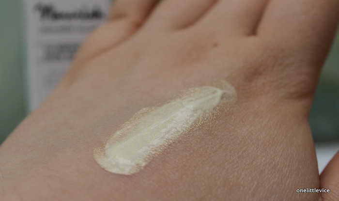 one little vice beauty blog: vegan cruelty free organic highlighter primer