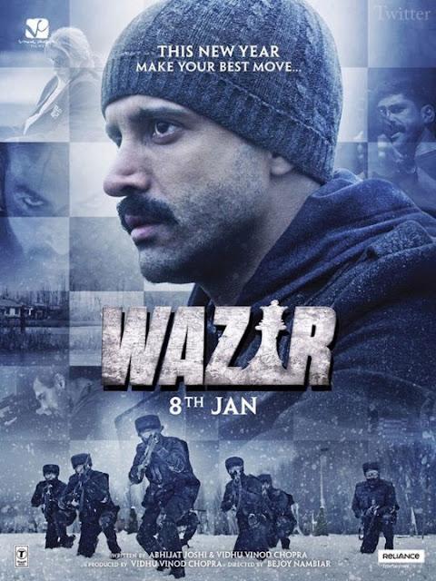 Film Wazir (2016) DVDScr Subtitle Indonesia