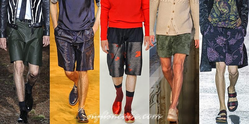 Spring Summer 2014 Men's Shorts Fashion Trends