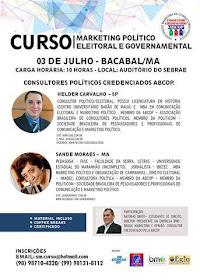 Curso Marketing Político Eleitoral e Governamental (clique no banner)