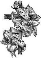 σταυρός τατουάζ, θρησκευτικές τατουάζ, τατουάζ καθολικό, χριστιανική τατουάζ, παραδεισένιο τατουάζ, τατουάζ ιερό, πνευματικό τατουάζ, τατουάζ banner, live-γέλιο-αγάπη τατουάζ, λουλούδι τατουάζ, τατουάζ ιβίσκου, θηλυκό τατουάζ