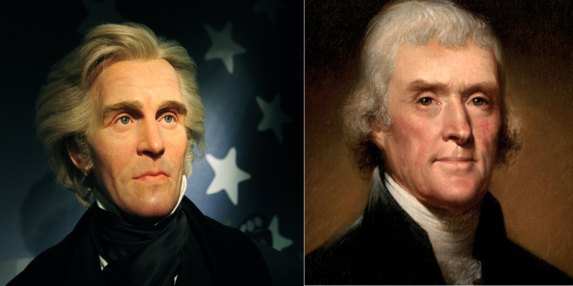 andrew jackson and thomas jefferson venn diagram. Black Bedroom Furniture Sets. Home Design Ideas