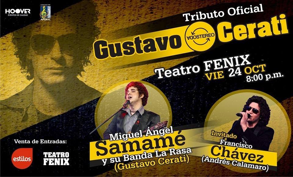 Gustavo Cerati, tributo