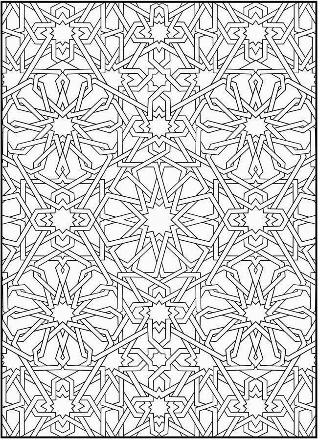 Arabic Glass Painting Patterns