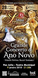 JOHANN STRAUSS - Grande Concerto de Ano Novo
