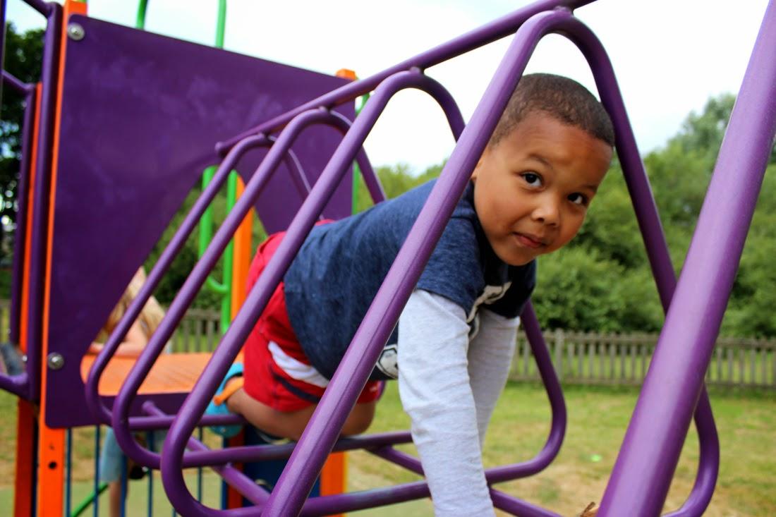 playground, children having fun
