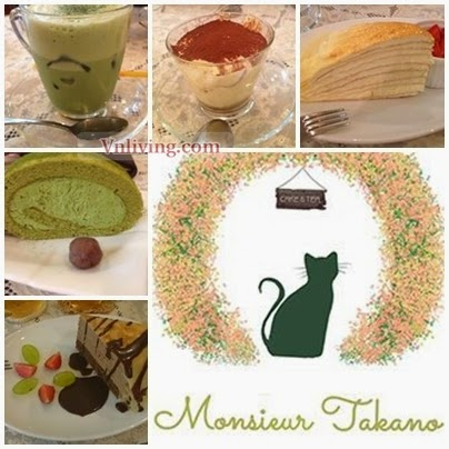 Monsieur Takano Tea and Cafe Nguyen Huu Canh
