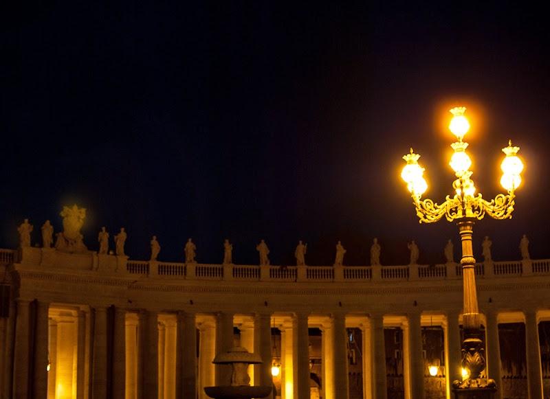 vatican city by night