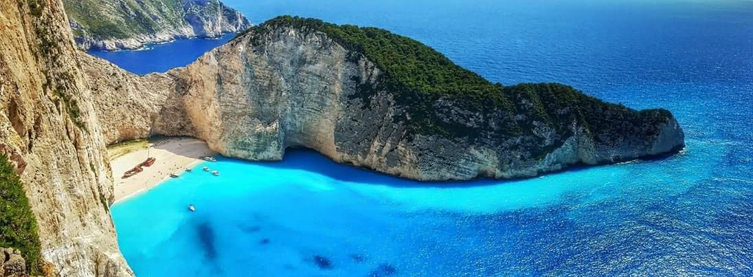 On The North West Coast Of Greek Ionian Island Zakynthos You Will Find Shipwreck Cove Or Smugglers Also Called Navagio Beach Which Is Probably