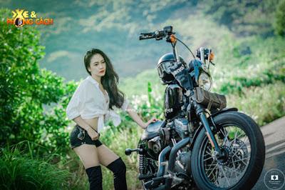 Harley-Davidon Sportster 1200 Nightster được độ lại với chí phí 70 triệu đồng