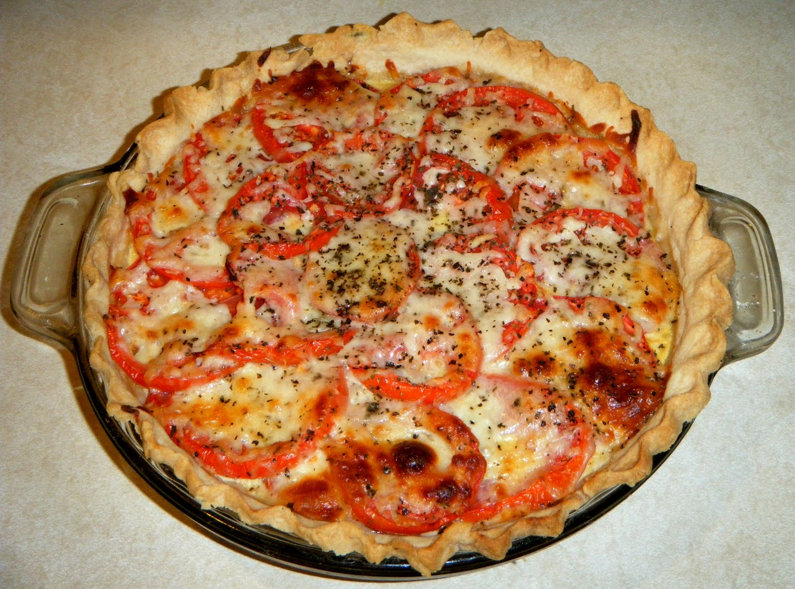 Tomato Pie Recipe — Dishmaps