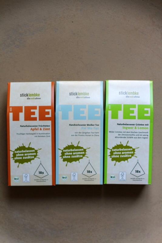 Päckchen mit den Tee-Entdeckungen