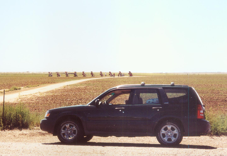 Cadillac Ranch Annapolis Eccentric Roadside April 2013