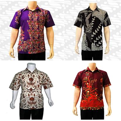 Jenis Dan Model Baju Batik Pria Terbaru 2013
