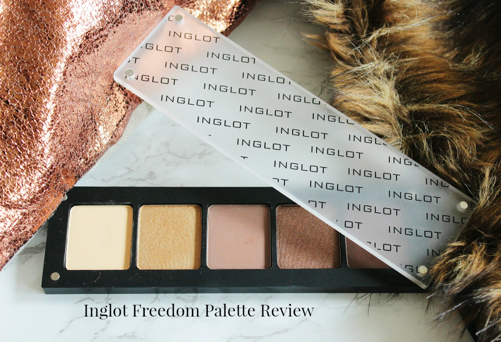 Ingot freedom palette review 5 palette 313, 155, 357, 42, 327 eyeshadows