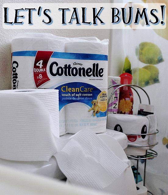 #CottonelleCleanCrew #LetsTalkBums