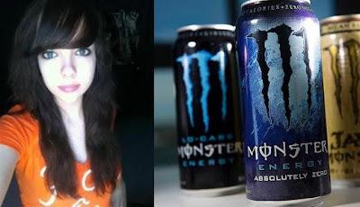 gadis meninggal karena minum energy drink