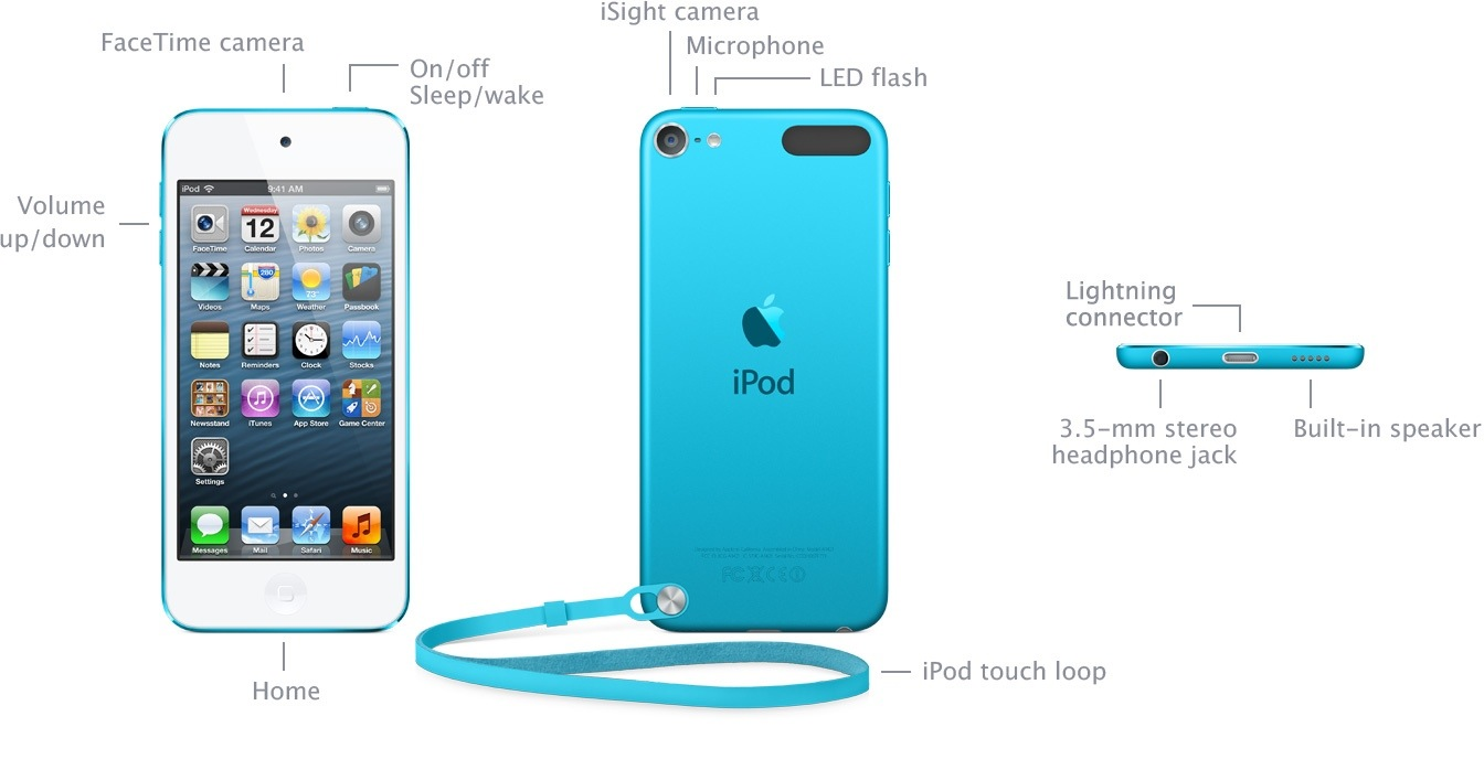 ipod touch review 5th generation blogappleguide. Black Bedroom Furniture Sets. Home Design Ideas