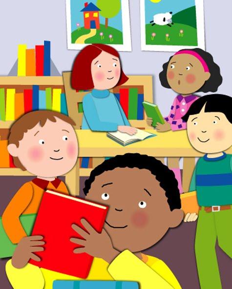 Vamos todos ler na biblioteca