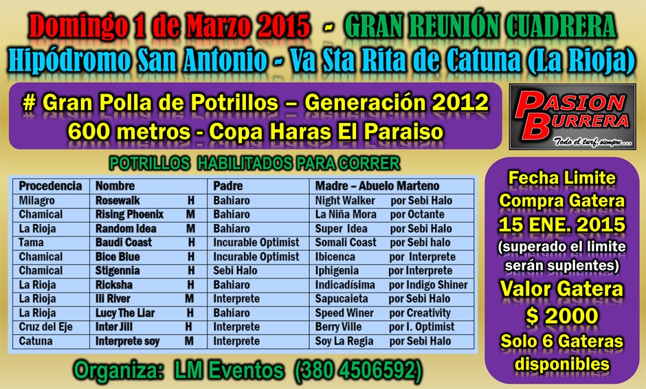 CATUNA - 1 DE MARZO 2015