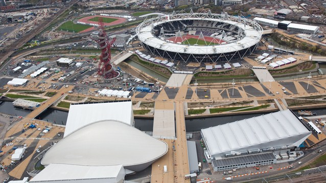 The Olympic Park - London Olympics 2012