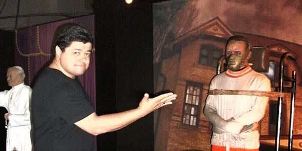 Minha visita ao museu de cera em Campinas