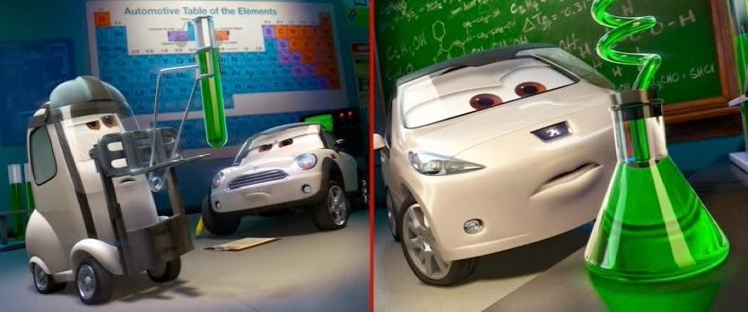 Dan The Pixar Fan Cars Lee Race