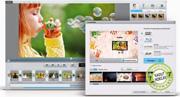 Magix Video Easy 5 HD 5.0.3 106 Terbaru Full Version