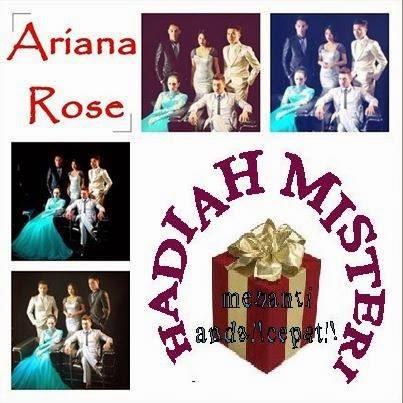 segmen Ariana Rose, hadiah Ariana Rose, peraduan Ariana Rose