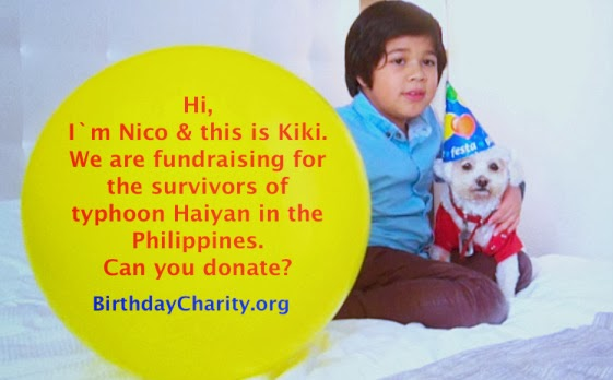 Birthday Charity Organization