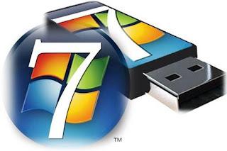Menginstal Windows 7 dengan Flashdisk