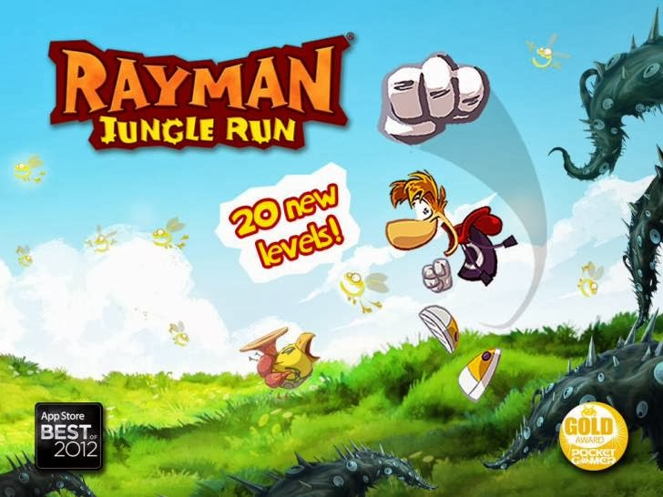 Rayman Jungle Run App iTunes App By Ubisoft - FreeApps.ws