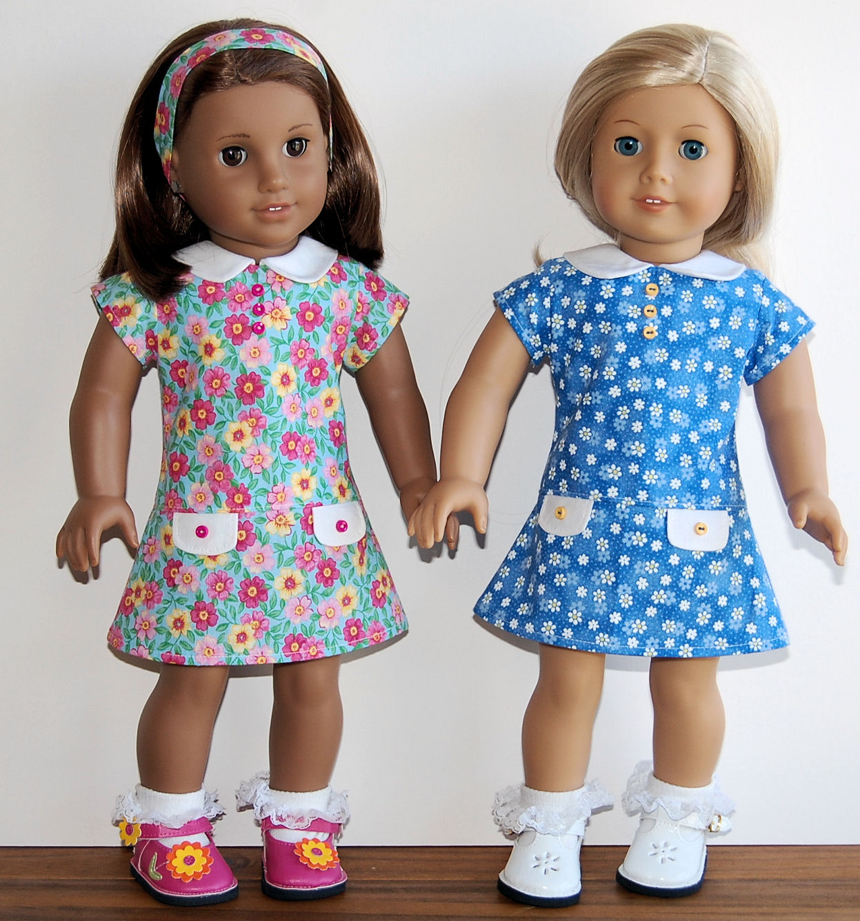 Sewing for american girl dolls teachers pet school dress teachers pet school dress purchased a cute pattern made by httpetsyshopkottoncandypatterns in the process of sewing a dozen of them jeuxipadfo Images