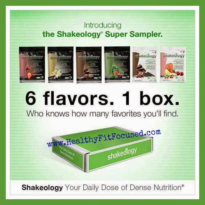 Shakeology Super Sampler - March Madness, Shakeology Style.  7 Days of Clean Eating, Shakeology, Meal Plan, Grocery List and support.  www.HealthyFitFocused.com