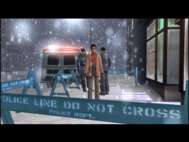 Fahrenheit Indigo Prophecy police investigation
