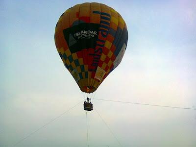 Belon Udara Di Bukit Timbalan - JB Arts Festival