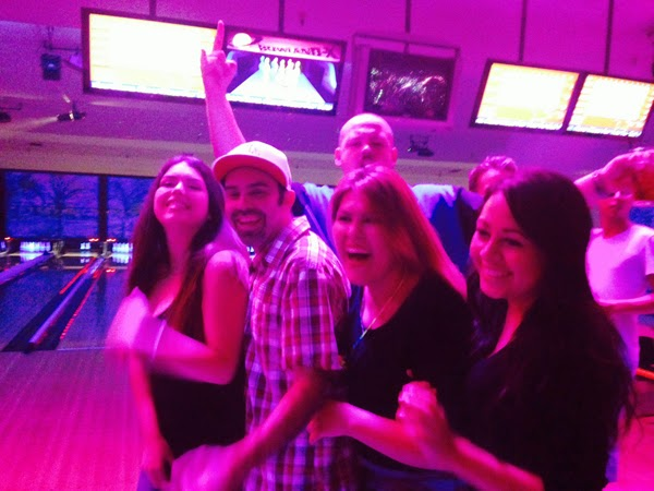 GotPrint customer service team bowling
