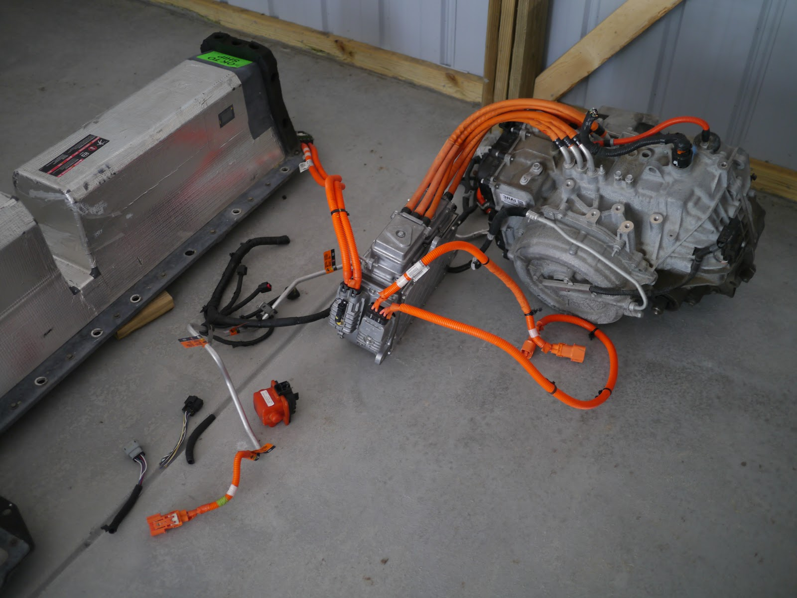 Experimental Vehicle Engineering Chevy Volt drivetrain