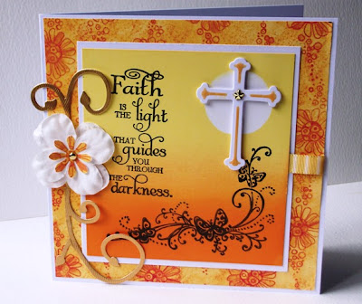 Our Daily Bread designs Customer Card of the Day Christa from Crafty Creations