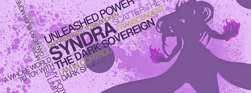 Syndra League of Legends Facebook Cover PHotos