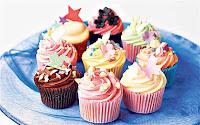 """kue gelas """"cupcakes"""""""
