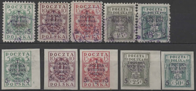 Poland 1919 1st National Stamp Exhibition