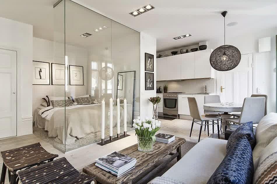 Treppen Design im Haus mit modernem Geländer aus Glas
