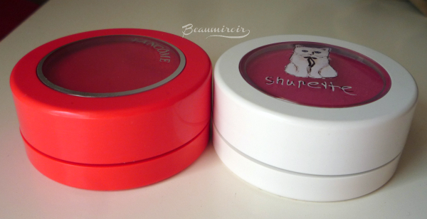 Lancôme Blush Subtil Crème in Corail Alizé vs. Shupette blush Shu Uemura