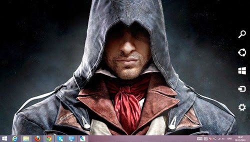Assassin's Creed Unity Theme For Windows7 And 8 8.1