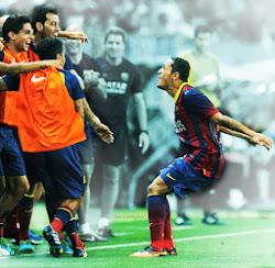 Vídeo del Gol de Adriano - Málaga vs FC Barcelona 0-1 (HD)